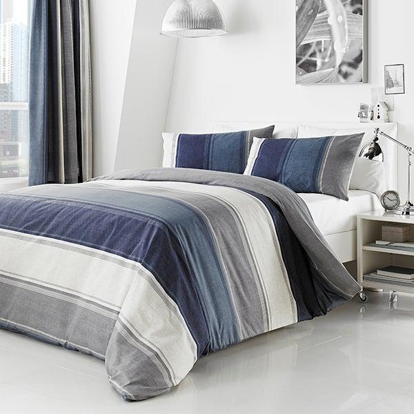 Blue Finley Bedlinen Collection
