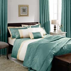 Teal Athens Bedlinen Collection