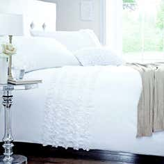 White Rosalie Bedlinen Collection
