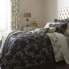 Dorma Black Emilio Bedlinen Collection
