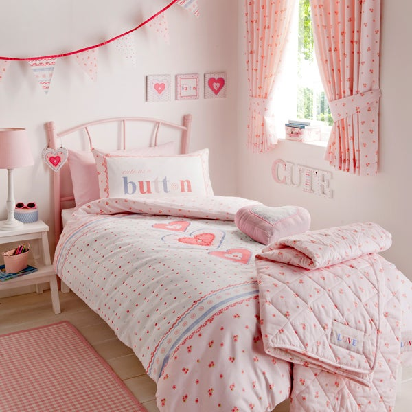 Cute as a Button Bedlinen Collection