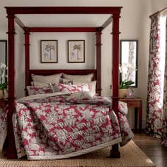 Dorma Red Samira Bedlinen Collection