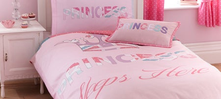 Princess Sleeps Here Bedlinen Collection