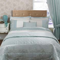Duck Egg Elizabeth Bedlinen Collection