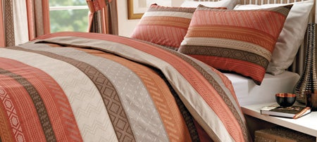 Terracotta Mizar Bedlinen Collection