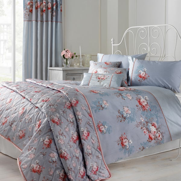 Duck Egg Rose Garden Bedlinen Collection
