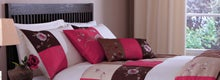 Pink Madision Patchworth Bedlinen Collection