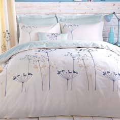 Duck Egg Cow Parsely Bedlinen Collection