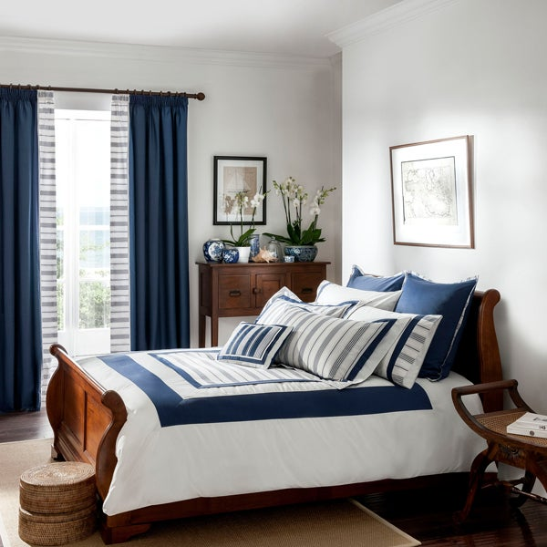 Dorma Navy Monaco Bedlinen Collection