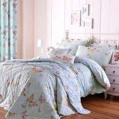 Eau de Nil Botanica Butterfly Bedlinen Collection