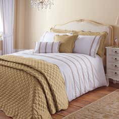 Gold Ciara Bedlinen Collection