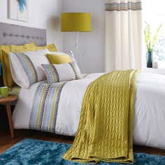 Teal Montreal Bedlinen Collection