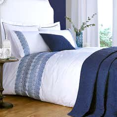 Blue Indi Bedlinen Collection