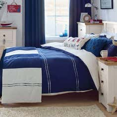 Navy Hampton Bedlinen Collection
