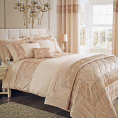 Gold Zetta Bedlinen Collection
