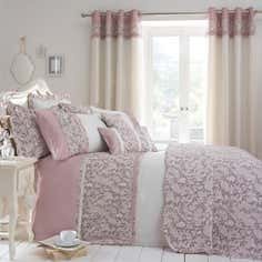 Dusky Pink Chinoiserie Bedlinen Collection