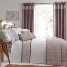Taupe Mercury Bedlinen Collection
