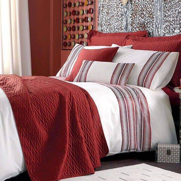 Terracotta Saffron Bedlinen Collection