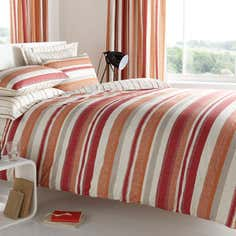 Red Boston Stripe Bedlinen Collection