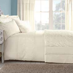 Cream Chloe Rose Bedlinen Collection