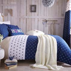 Navy Country Spot Bedlinen Collection