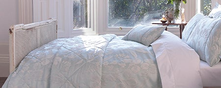 Dorma Duck Egg Iris Bedlinen Collection