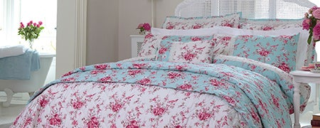 Dorma Duck Egg Mirabelle Bedlinen Collection