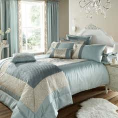 Duck Egg Beatrix Bedlinen Collection