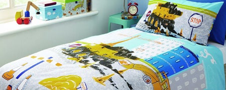 Kids Construction Bedlinen Collection