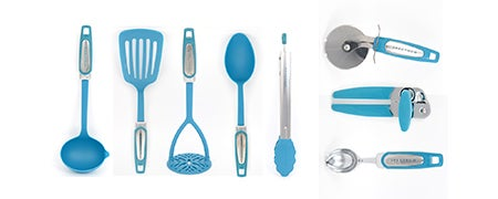 Teal Spectrum Utensil Collection