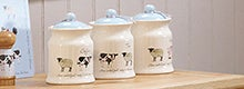 Bakewell Farm Kitchen Canister Collection