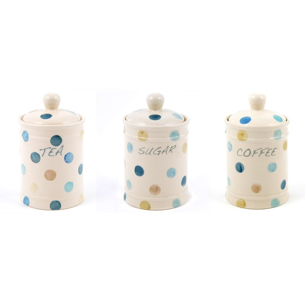 Blue Country Spot Kitchen Canister Collection