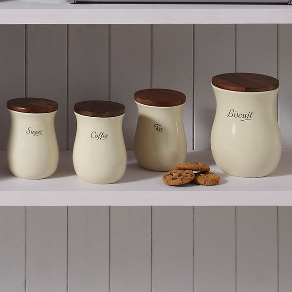 Hourglass Kitchen Canister Collection