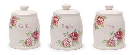Rose and Ellis Clarendon Kitchen Canister Collection