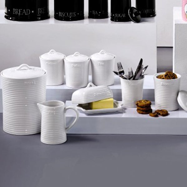 Chalk Cottage Kitchen Canister Collection