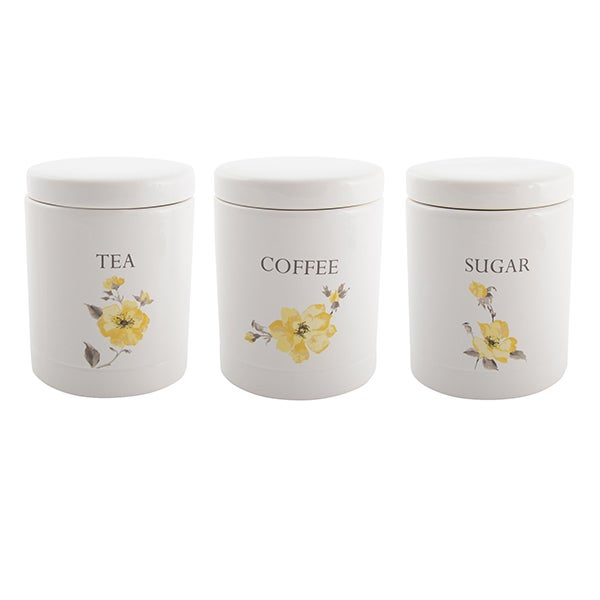 Meadow Blossom Kitchen Canister Collection