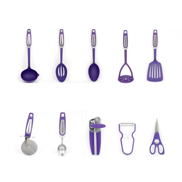 Plum Spectrum Utensils Collection