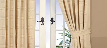 Natural Bonn Lined Curtain Collection