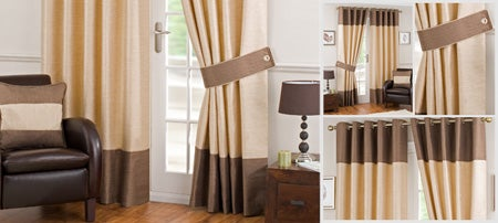 Cream Cassis Eyelet Curtain Collection