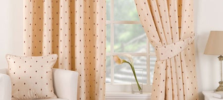 Cream Vienna Curtain Collection