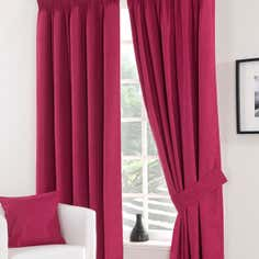 Waters and Noble Fuchsia Solar Blackout Curtain Collection