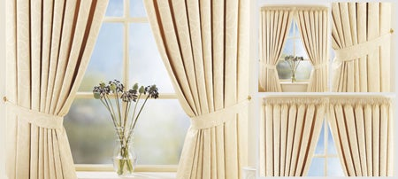 Natural Toledo Curtain Collection