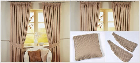 Stone Omega Curtain Collection
