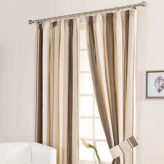 Mocha Milan Curtain Collection
