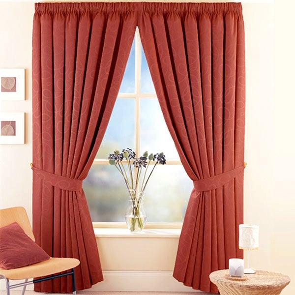 Terracotta Toledo Curtain Collection