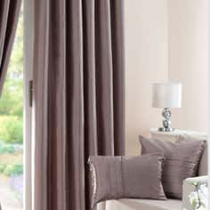 Hotel Mink Pintuck Faux Silk Curtain Collection