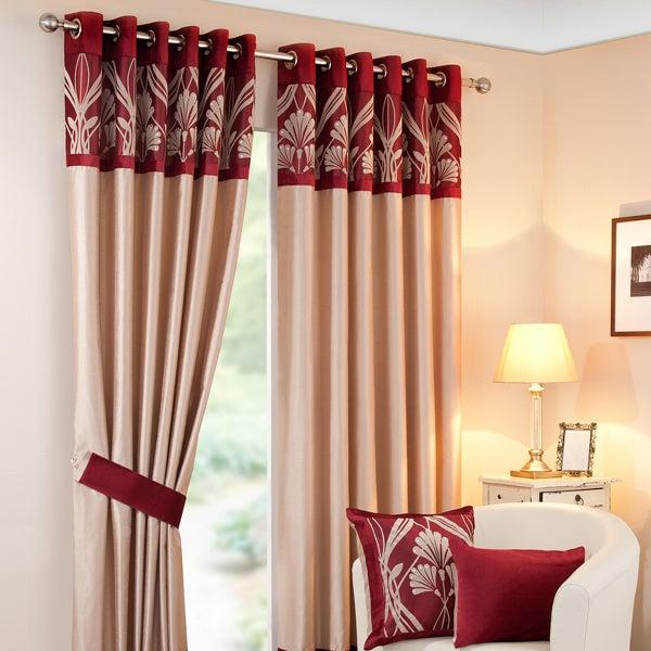 Wine Savoy Curtain Collection