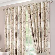 Natural Lalique Curtain Collection