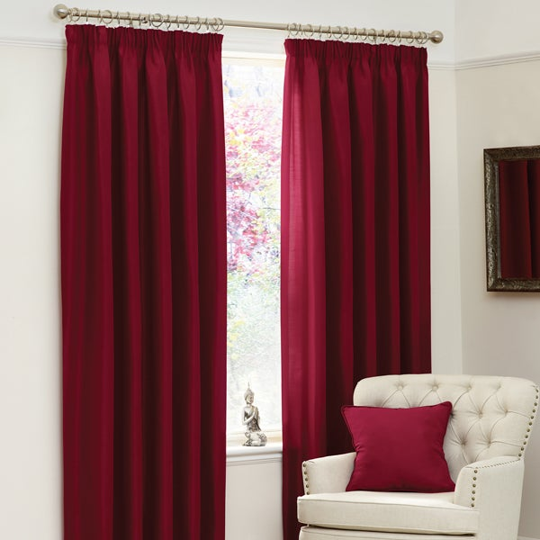 Ruby Sorrento Curtain Collection
