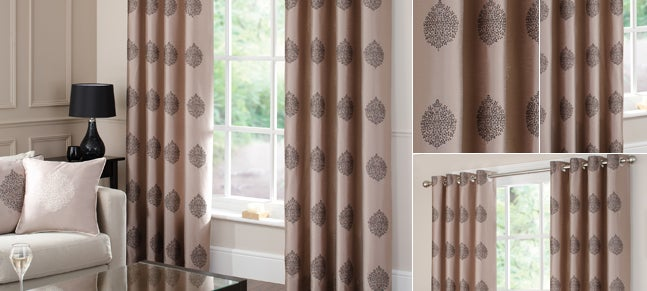 Black India Curtain Collection